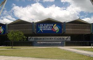 Picture of Hiram Bithorn Stadium in San Juan, ...