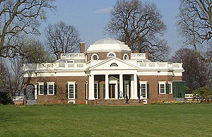 Monticello, in Virginia, was the estate of Tho...