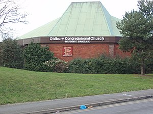English: Oldbury Congregational Church Oldbury...