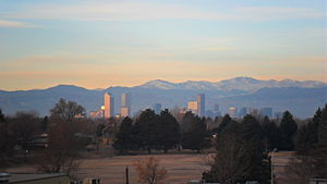 English: Denver Skyline