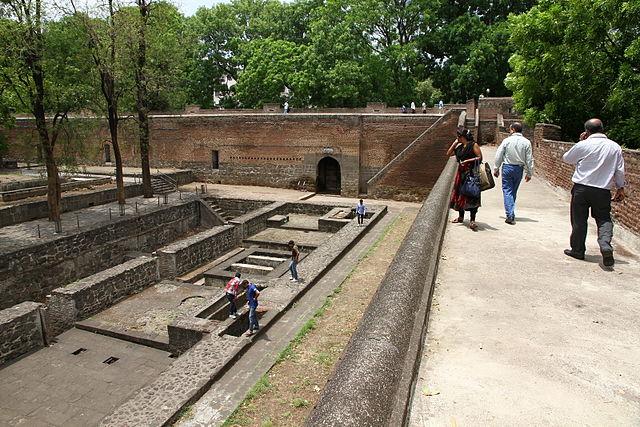 Ruins inside Shaniwar Wada