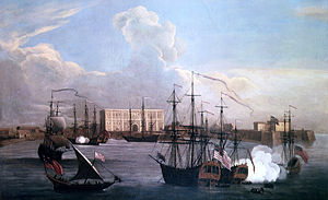 Ships in Bombay Harbour, 1731
