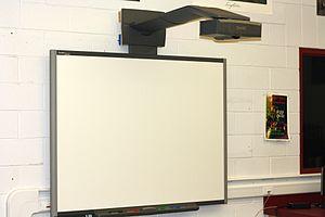 English: A Smartboard