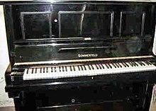 Piano  Viquipdia lenciclopdia lliure
