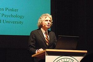 English: Steven Pinker at the Göttinger Litera...