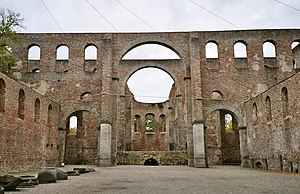 Monastery ruins in Bad Hersfeld
