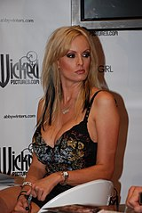FileStormy Daniels at Erotica LA 2009jpg  Wikimedia Commons