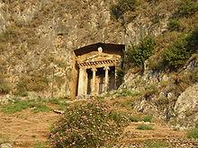 Felsengrab des Amyntas, Sohn des Hermagios