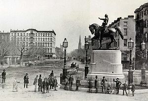 Photograph of Union Square, Manhattan, New Yor...