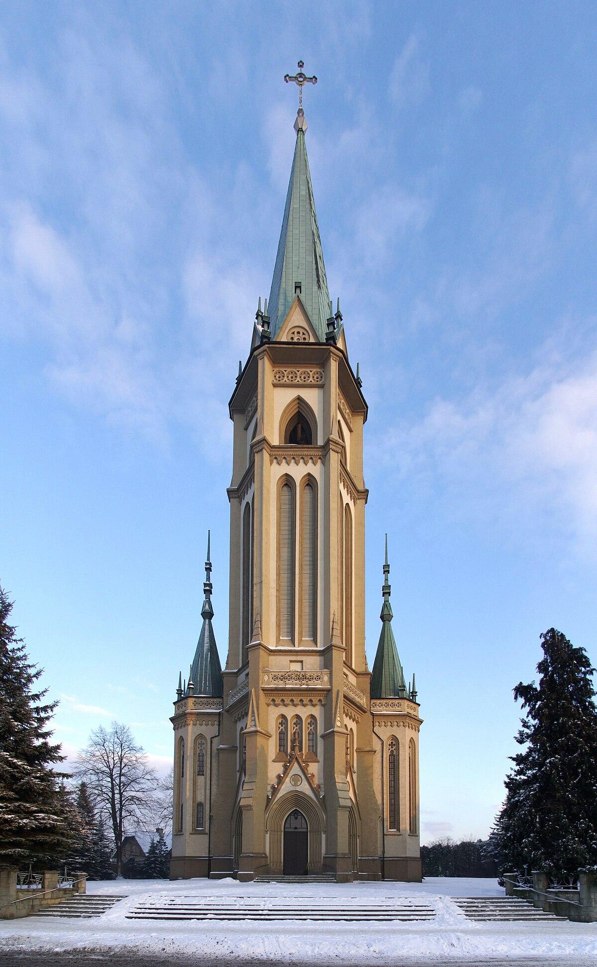 Parafia Przenajwitszej Trjcy w Wilamowicach  Wikipedia