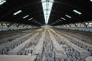 English: qin shi huang terracotta army xian ch...