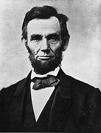 Abraham Lincoln, The 16th president of The United States.
