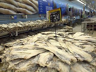 Codfish in Lisbon market Wikipedia