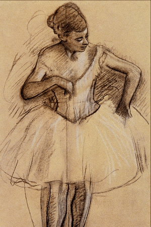 Ballet Dancer - Edgar Degas