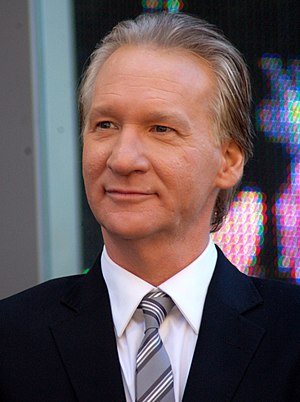 English: Bill Maher attending a ceremony to re...