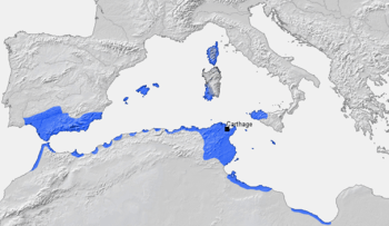 Carthage and its dependencies in the 3rd centu...