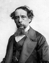 Charles Dickens by Rischgitz c1860s