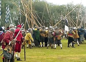 English Civil War Reenactment