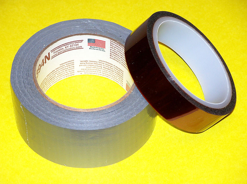 File:Duct Tape and Kapton Tape.jpg