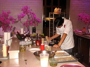 A test kitchen is a kitchen used for the proce...