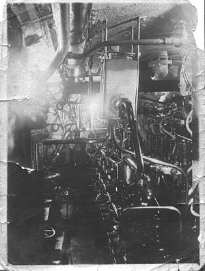 Dirty Old Engine Room