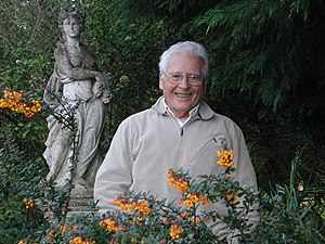 A 2005 photograph of James Lovelock, scientist...