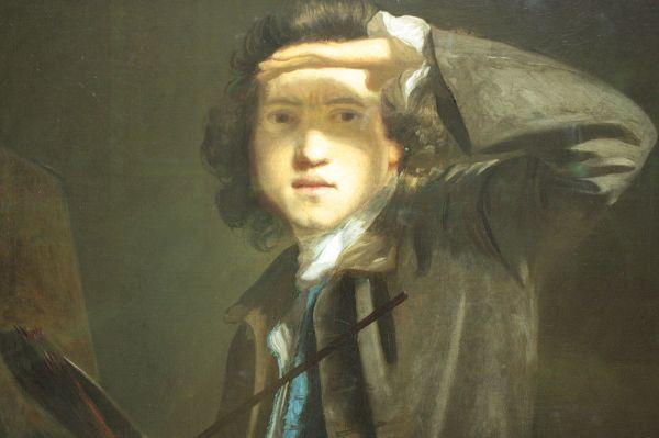 File Joshua Reynolds -portrait Detail Aged