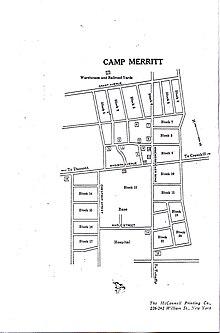 Camp Merritt, New Jersey