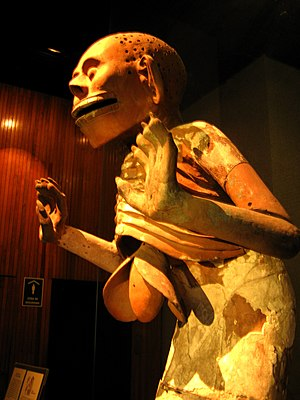 Mictlantecuhtli. Museo del Templo Mayor. Ciuda...