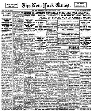 The New York Times Vikidia Lencyclopdie Des 8 13 Ans