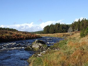 English: One of many salmon fishing spots in G...