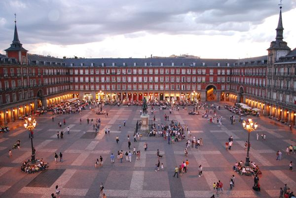 Plaza Mayor Madrid - Wikipedia