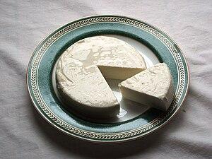 English: Queso fresco - an unaged white cheese...