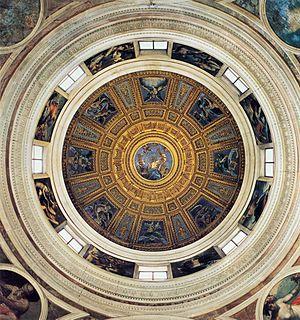 Raffaello Sanzio - Dome of the Chigi Chapel - ...