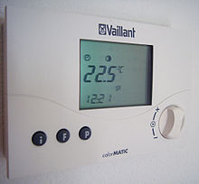 Analog Thermostat Wiring Diagram Programmable Thermostat Wikipedia