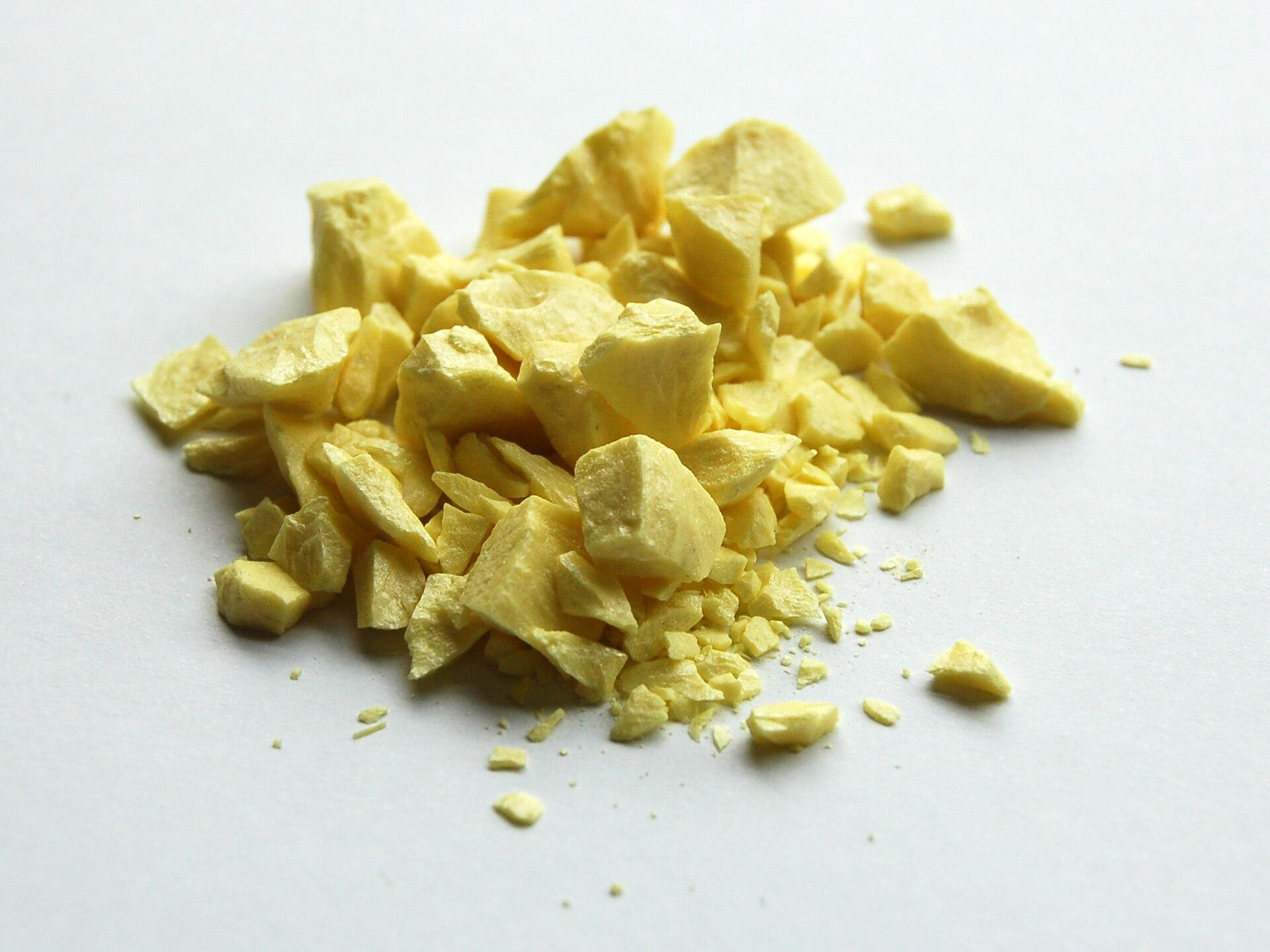 Atomic Symbol For Sulfur