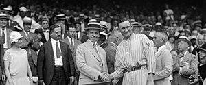 US President Calvin Coolidge and Washington Se...