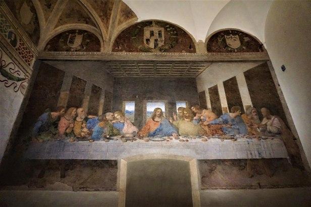 """""""The Last Supper"""" by Leonardo da Vinci"""