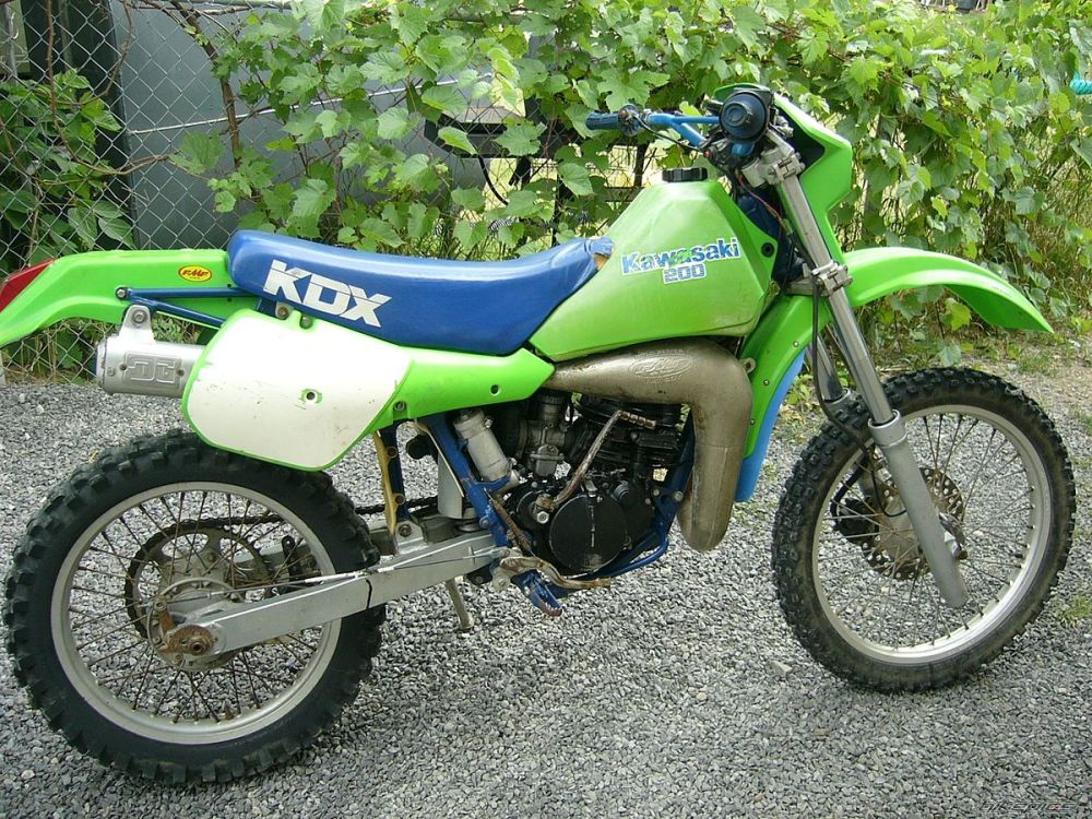 medium resolution of air cooled kdx 200 photos kawasaki