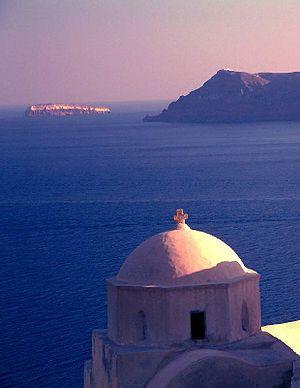 Blue Sea Santorini Island
