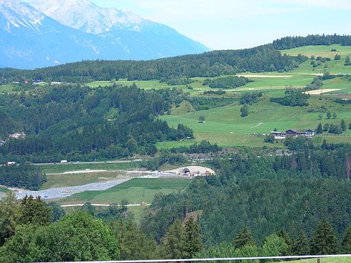 Brenner basetunnel portal