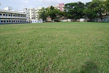 English: Don Bosco School, Park Circus main pl...