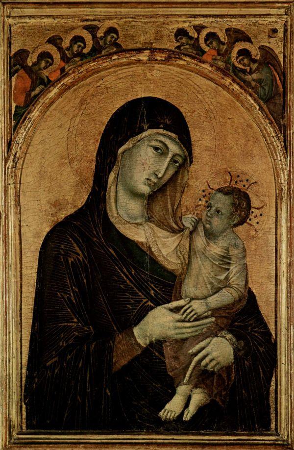 Duccio Di Buoninsegna Madonna and Child