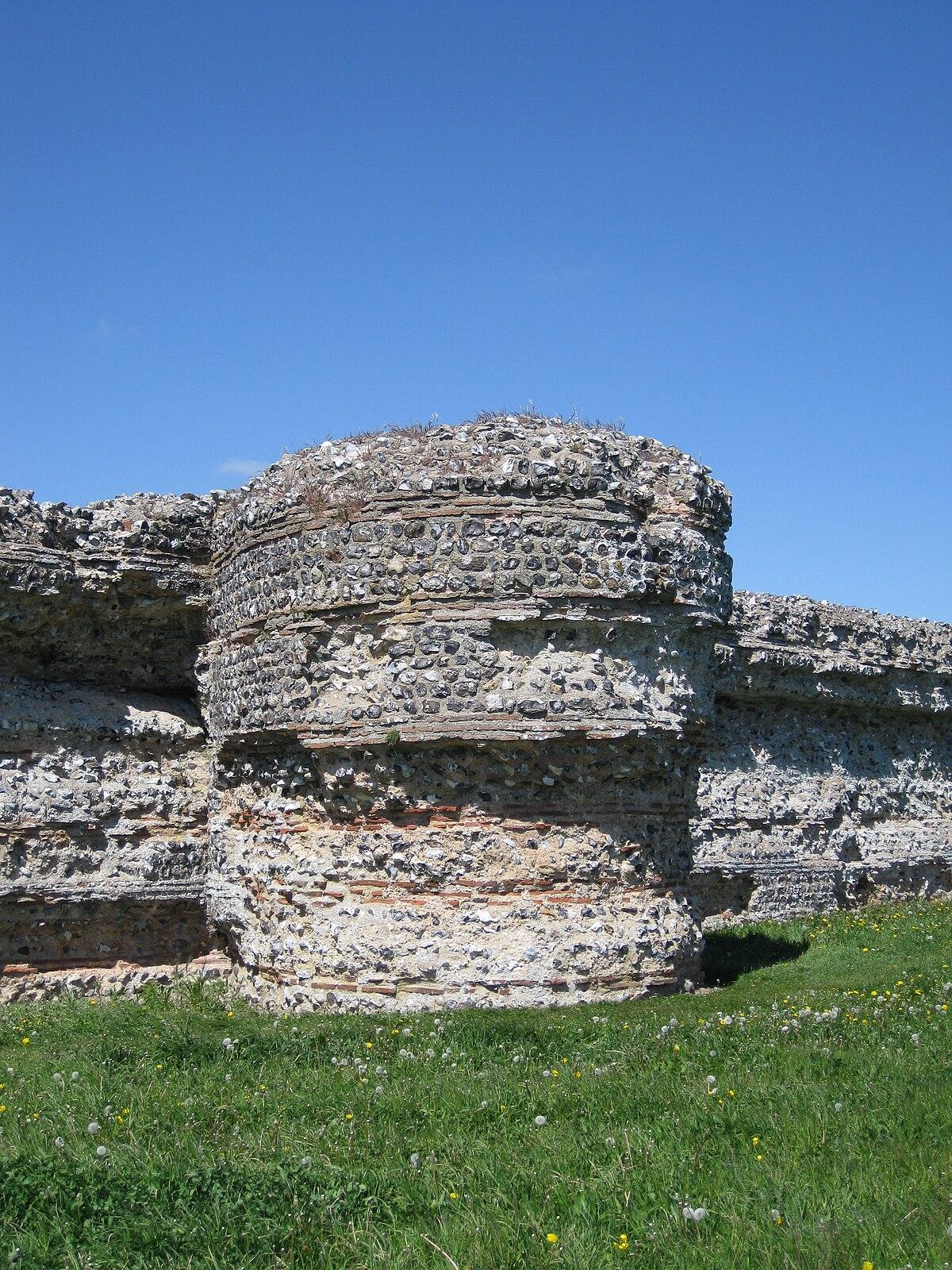 Burgh Castle Roman Fortification Wikipedia