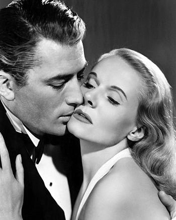 English: Gregory Peck & Ann Todd in The Paradi...