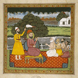 El Gurú Nanak, fundador del Sikhismo.