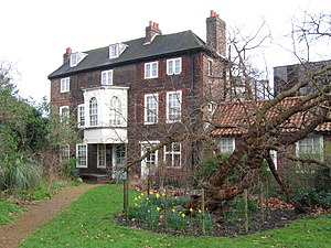 Photo of Hogarth's House, which is on the A4 r...
