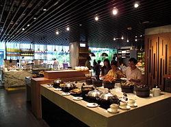 hotel with kitchen hong kong ikea kitchens usa icon wikipedia the market restaurant