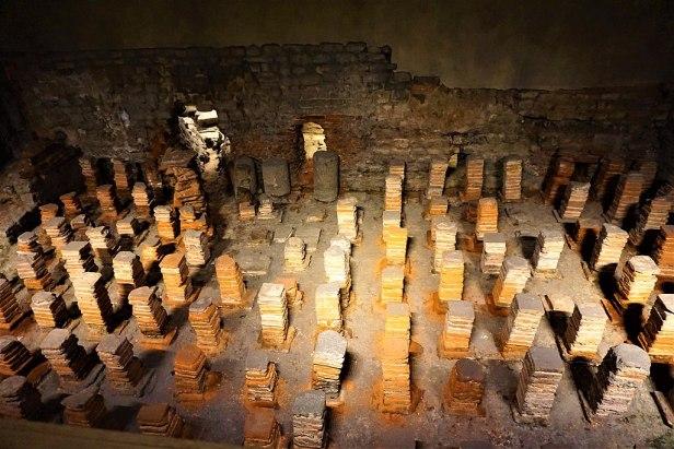 Hypocaust of the Heated Room - Roman Baths (Bath)