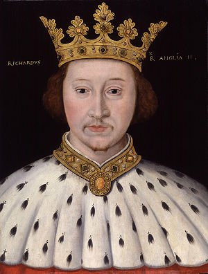 King Richard II, by unknown artist. See source...